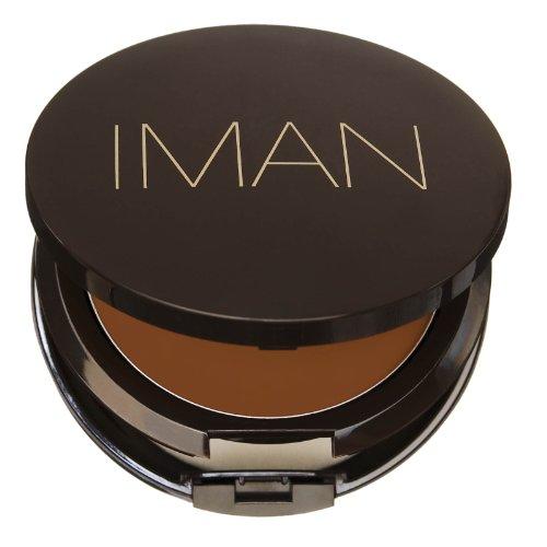 IMAN Second to None Cream to Powder Foundation, Dark Skin, Earth 4