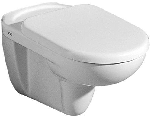 Keramag WC-Sitz Mango, Scharniere verchromt Weiß (Alpin), 573800000