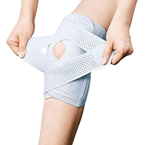 ZJJLZJ Rodilleras fijas, ligamentos de la articulación de la Rodilla para Hombres y Mujeres, protegen el daño del Sacro del menisco, apoyan la ventilación