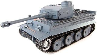Smoking 1:16 RC Tank German Tiger I Panzer w/. Engine Sound & Airsoft Gun