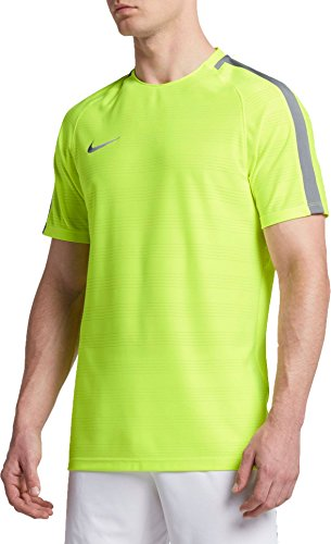 Nike Dry Squad Trainingsshirt Herren neongelb / grau, M - 44/46