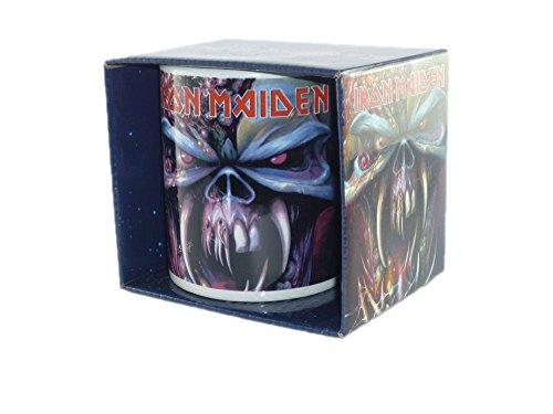 Iron Maiden - Rock Band Tasse Geschenktasse (Final Frontier)...toll verpackt in einer Geschenkbox!