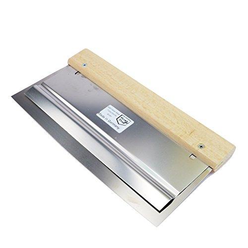 ROTIX Doppelblatt-Flächenpachtel rostfrei gerade Blattkante verschiedene Größen Flexspachtel Doppelblattspachtel (270 mm)