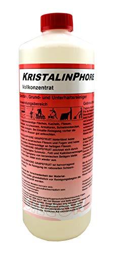 Kristalinphore Kristalin RD Vollkonzentrat Sanitär-, Grund- und Unterhaltsreiniger für Kacheln, Fliesen, Edelstahl, Acrylwanne und Armaturen