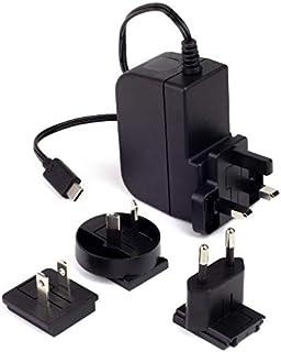 Raspberry Pi 4 - Fuente de alimentación (5,1 V, 3 A, USB-C, Multinacional, Color Negro)