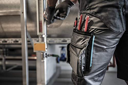 Uvex Uvex Tune-Up Arbeitshosen Männer Kurz - Shorts für die Arbeit - Grau - Gr 31W/Etikettengröße- 46