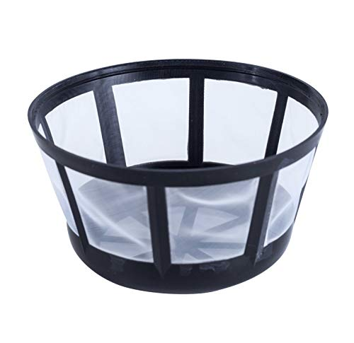 Fill & Brew Reusable Coffee Filter Basket for Most Mr. Coffee, Black & Decker, Regal and Procter Silex Coffee Makers, 1-Pack