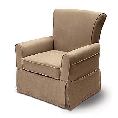 Delta Furniture Benbridge Upholstered Glider Swivel Rocker Chair