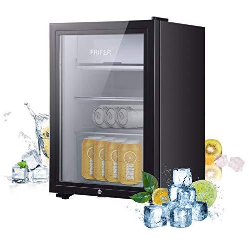 Frifer Mini Fridge 63 liters, Small Fridge Portable, Mini Refrigerator for...