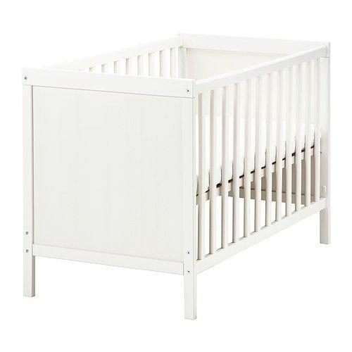 Ikea SUNDVIK Babybett in weiß