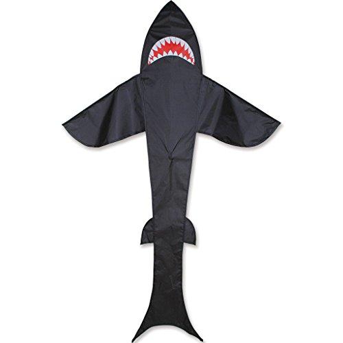 Premier Kites 7' Shark- Black