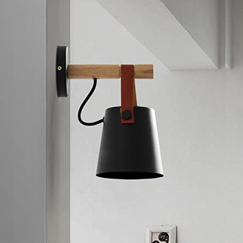 JJZHG wandlamp wandlamp waterdichte wandverlichting riem wandlamp, zwart bevat: wandlamp, stoere wandlampen, wandlampen ontwerp, wandlamp LED, wandlamp badkamer, wandverlichting