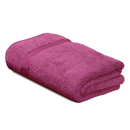 Serviette de Toilette 40x60 cm Royal Cresent Rose Vin 650 g/m2
