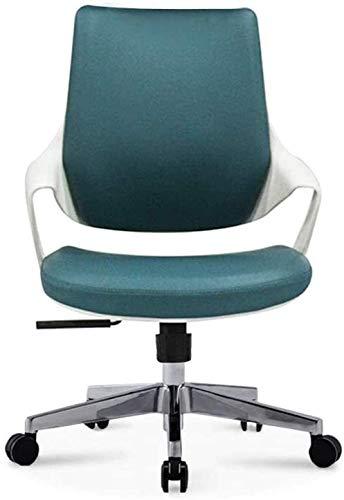JCCOZ-URG Silla de oficina giratorio ejecutiva Silla de estudiante juvenil de alta gama, silla de estudio, silla de computadora, silla de estudiante de escuela secundaria y secundaria, silla ergonómic
