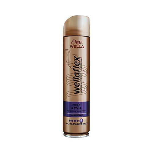 Wella Wellaflex Fülle & Style Haarspray für ultra starken Halt, 6er Pack (6 x 250 ml)