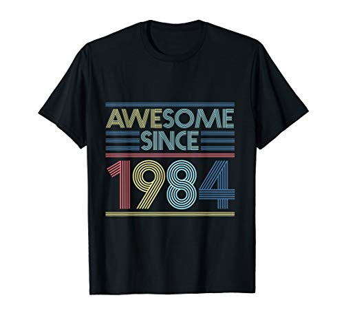 Awesome Since 1984 - 36. Geburtstag - Genial Seit 1984 T-Shirt