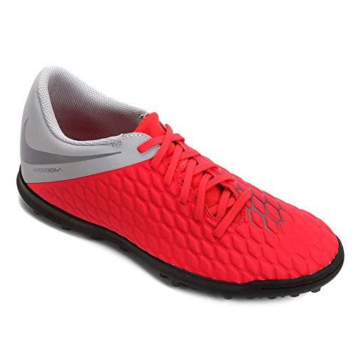 Nike Unisex-Erwachsene Hypervenom 3 Club Tf Fitnessschuhe, Mehrfarbig (Lt Crimson/MTLC Dark Grey/Wolf Grey 600), 42 EU