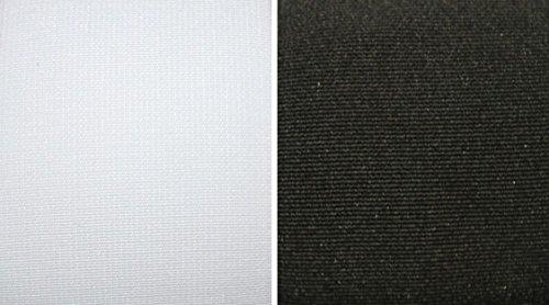 1m Gummiband Gewirkt 100mm breit- schwarz