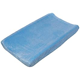 Summer Ultra Plush Changing Pad Cover, Blue