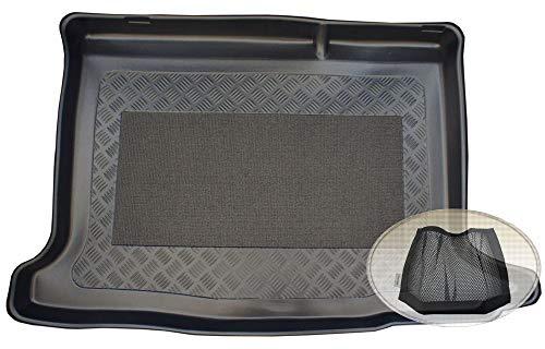 bester Test von dacia sandero stepway prestige ZentimeX Z3033906 Rutschfester Kofferraumtank für Autos + Klettverschluss (Stiefel,…