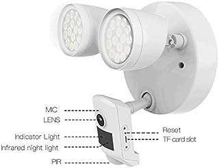 VStarcam FC2ホワイト屋外HD 1080P WIFIフラッドライトIP66防水防犯カメラ