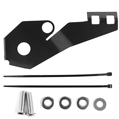 Protector de interruptor de caballete lateral Práctico ligero para motocicleta(black)