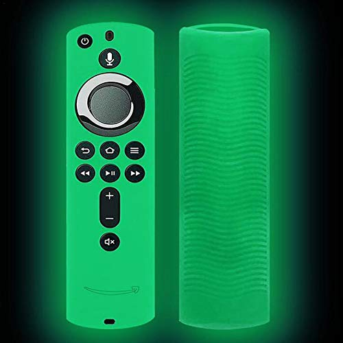 Custodia per Telecomando, Cover in Silicone Antiscivolo per Fire TV Stick 4K / Fire TV (3a generazione) / Fire TV Cube
