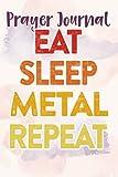 Prayer Journal Eat Sleep Detect Metal Detecting Detector Funny Gift Vintage Good: Faith Based Gifts,For Women, Dayspring Journals, Prayerful Planner, Devotional Calendar