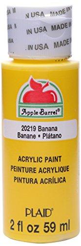 Apple Barrel Acrylic Paint in Assorted Colors (2 Ounce), 20219 Banana