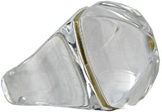 Jewelry Clear Medicis POP Crystal Ring Made in France