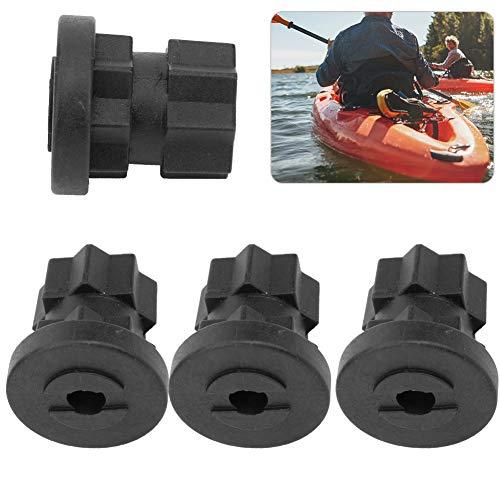 Vcriczk Kayak Scupper Durable Kayak Accesorios Enchufe 4PCS Enchufe de Kayak para Kayak
