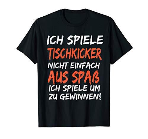 Tischkicker Tischfußball Kicker Wuzzler Verein Krökeln Hobby T-Shirt
