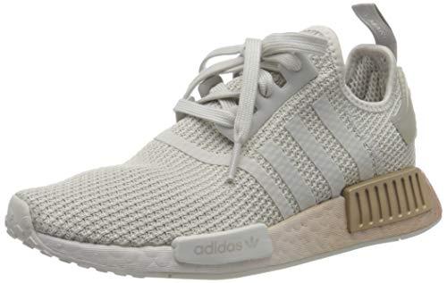 adidas Damen NMD_r1 W Sneaker, Grey One F17/Grey One F17/Grey Two F17, 40 EU