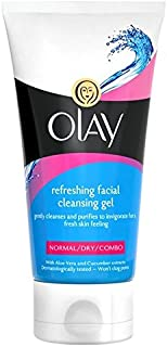 Olay Essentials Cleansers Refreshing Face Wash 150ml (Pack of 6) - 洗顔料の150ミリリットルをリフレッシュオーレイの必需品クレンザー x6 [並行輸入品]