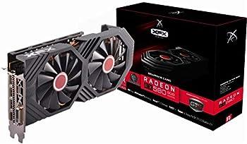 XFX Radeon RX 580 GTS Black Edition PCI Express 3.0 1425MHz OC+ 8GB GDDR5 VR Ready Grapics Card  1 x DL DVI-D /1 x HDMI /3 x DisplayPort  RX-580P8DBDR