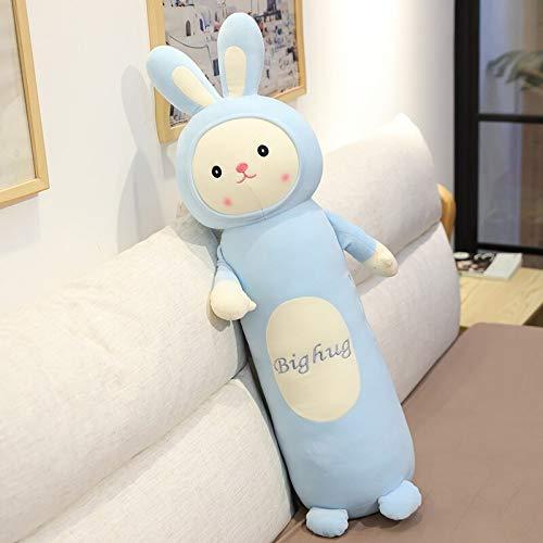 N / A Hot 65cm Cartoon Long Soft Pillow Unicorn Pig Rabbit Bear Monkey Plush Toys Cushion Sleep Pillow Girls Lovely Birthday Gift 65cm