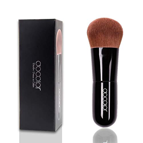 Set cosmétiques Brosses outil Magic Foundation Brush Brush for Poudre Mineral Foundation Blending Blush Polissage Maquillage Brush Outil Maquillage Outil de maquillage parfait sans défaut