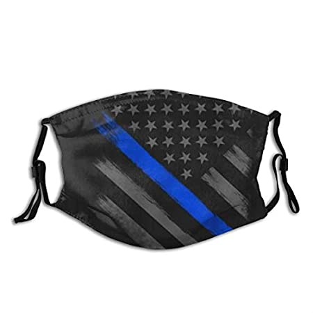Thin Blue Line Surgical Face Mask (Non Medical Use)
