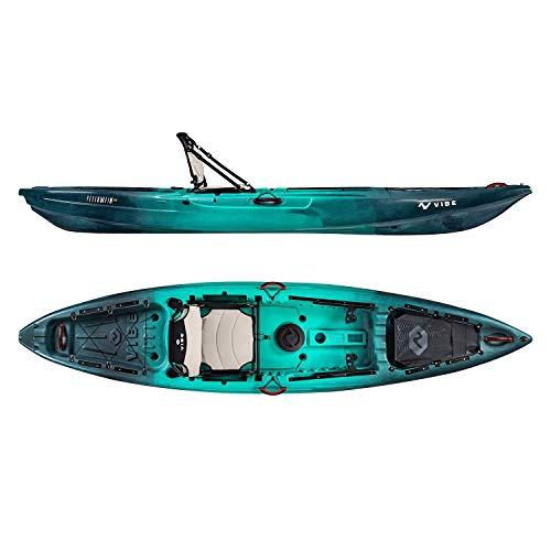 Vibe Yellowfin 120 Kayak Package 12-Foot Fishing Kayak with Framed Hero Seat