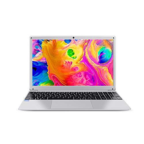 KUU Ordenador portátil Notebook 15.6 Pulgadas Pantalla IPS 1920x1080 Intel Atom X5-E8000 Quad Core CPU 4GB RAM 128GB SSD Windows 10 Laptop con Teclado numérico USB3.0 HDMI