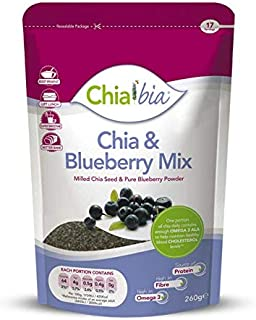 (3 PACK) - Chia Bia Milled Chia Seed & Blueberry Mix| 100 g |3 PACK - SUPER SAVER - SAVE MONEY