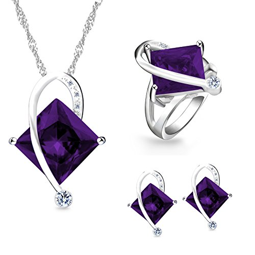 Uloveido Fashion Big Square Purp...