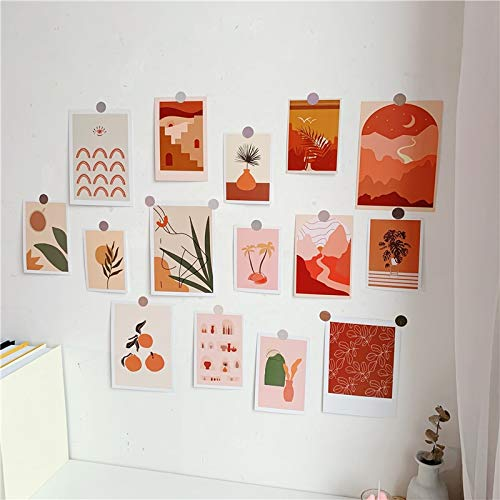 PMSMT 15 Hojas ins Tarjetas de Estilo Sala gráfica decoración de la Pared Cartel Creativo papelería Accesorios fotográficos Etiqueta Decorativa Regalo