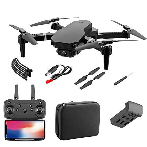 Eighty Drohne mit 4K Doppelkamera Faltbare GPS Drohne One Touch Start und Landung WiFi RC Quadrocopter APP/Fernbedienung/Gestensteuerung