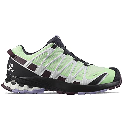 SALOMON Shoes Supercross 3, Zapatillas de Trail Running Mujer, India Ink/Vanilla Ice/Peachy Keen, 38 EU