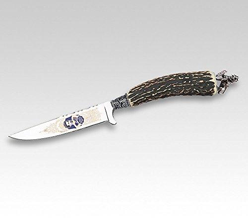 Linder Couteau Costume Traditionnel décoratif Dos, rfr. Pôle, HH. Roi Lud wigbayr. löwepl. 10 cm