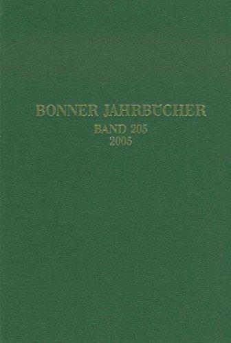 Bonner Jahrbücher: Bd 205