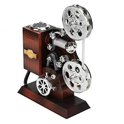 OLLVU Kreative Klassische Schreibmaschine Modell Music Box Holz Metall Antike Spieldosen, Geburtstag, Hochzeit, Geschenk, Spielzeug, Dekoration,