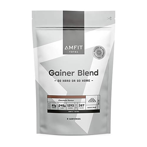 Marca Amazon - Amfit Nutrition Gainer Blend Sabor Chocolate, 3kg (anteriormente PBN)