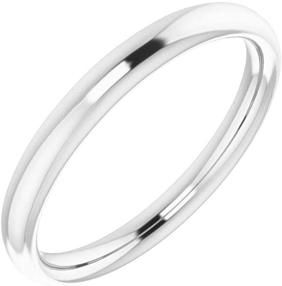 Solid 10K White Gold Price reduction Curved Notched for Wedding Emera Cash special price Band 7x5mm